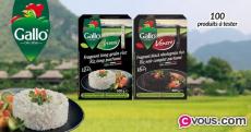 100 paquets de riz parfumé Riso Gallo gratuits