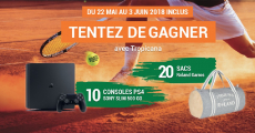 10 Sony PS4 Slim et 20 sacs Roland Garros à remporter !