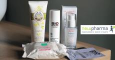 Échantillons gratuits d'une routine personnalisée Newpharma