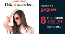 En jeu : 8 paires de solaires Sabine Be de 309€