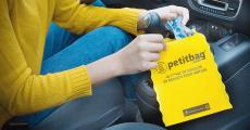 Echantillons gratuits du sac poubelle pour voiture Petitbag