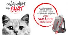 Sac à dos Royal Canin offert sur simple visite