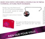 Cadeau Marionnaud: Un accroche sac !