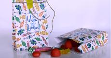 Sachet de bonbons offert sur simple visite