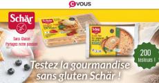 400 produits Schär offerts !