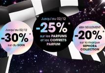 Black Friday jusqu'à -30% sur les produits Sephora 0 (0)