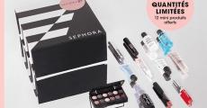 SephoraBox : 12 miniatures de maquillage offertes dès 80€ d'achat !