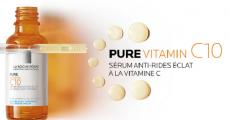 1500 sérums Pure Vitamin C10 de La Roche-Posay offerts