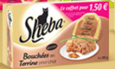 Coffret Sheba à 1€50