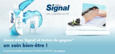 Jouez avec Signal et tentez de gagner un soin bien-être !