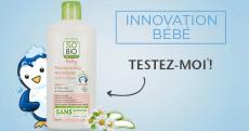 100 shampooings micellaires pour bébé SO'BiO étic offerts