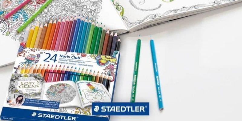 400 lots de feutres et crayons écologiques Staedler offerts