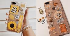 Stickers pour téléphone offerts sur simple visite