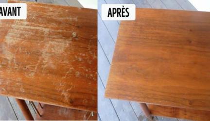 Donnez un second souffle à votre vieille table en bois pleine d'éraflures ! 0 (0)