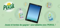 2 Bouteilles de lessive Persil et 1 iPad mini à gagner