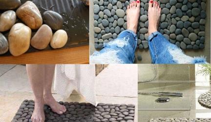 DIY : Tapis de pierres pour votre salle de bain ! 0 (0)