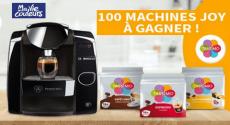 100 Machines à Café Tassimo Joy offertes !