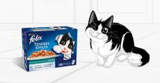 300 packs d'alimentation pour chat Félix de Purina à tester