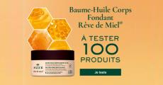 100 baumes Rêve de Miel de Nuxe à tester