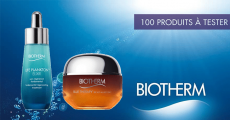 100 duos de soins Biotherm à tester