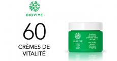 60 crèmes bio Biovive à tester