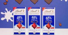 1500 tablettes de chocolat Lindt Excellence à tester