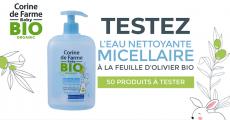 A tester : 50 eaux nettoyantes Corine de Farme