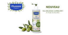 A tester : 20 eaux micellaires bio Mustela 4.9 (7)