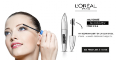 100 mascaras Bambi Eye de L'Oréal Paris à tester