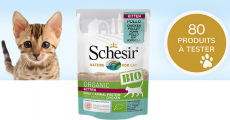 A tester : 80 sachets d'alimentation pour chat Schesir