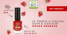 A tester : 100 vernis à ongles Natural de So'Bio Etic