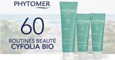 60 routines de soins bio Phytomer à tester