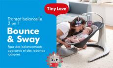 12 transats Bounce & Sway de TINY LOVE à tester !