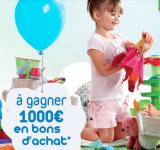 Jeu Verbaudet: Pleins de bons d'achats de 100 euros à gagner !