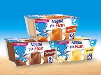 1500 packs de P'tit Flan Nestlé gratuits