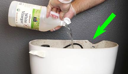Le vinaigre blanc, votre meilleur allié pour nettoyer les toilettes ! 0 (0)