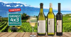 12 bouteilles de vins Vigne de Vevey à gagner