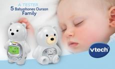 5 babyphones Ourson Family de VTECH offerts !