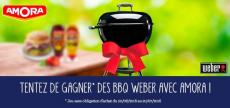 Gagnez des BBQ WEBER avec Amora !