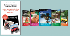 600 e-cartes Wonderbox à gagner