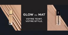 Packs d'échantillons Yves Saint Laurent beauté offerts sur simple visite